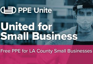 PPE Unite logo: free PPE for small businesses