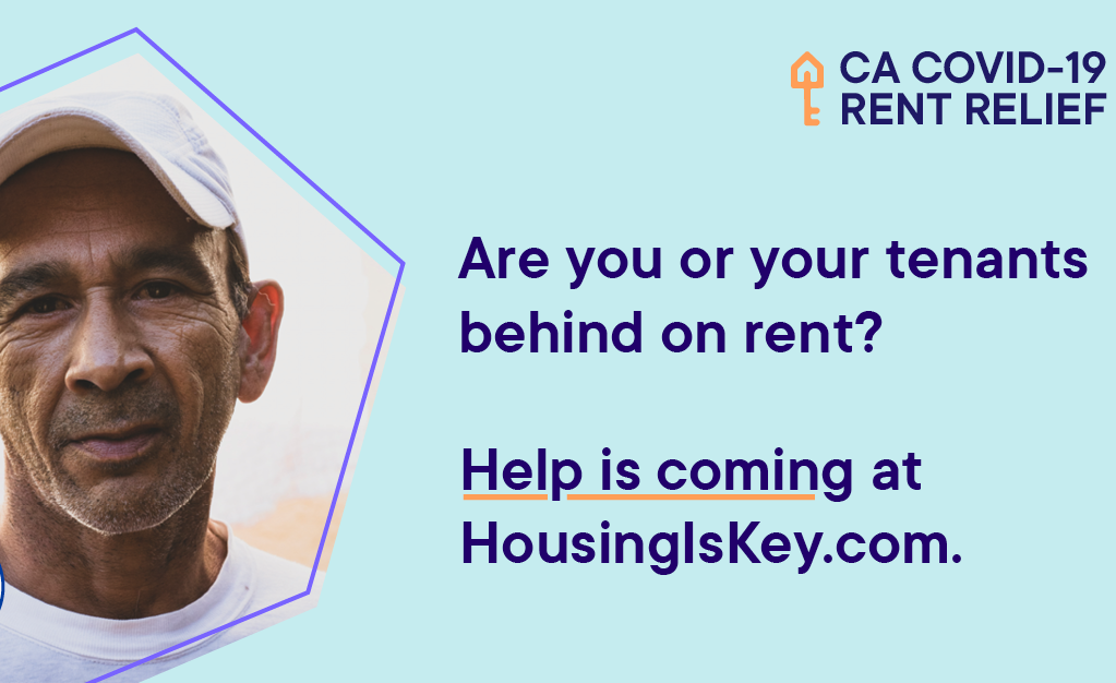Are you or your tenants behind on rent? Housingiskey.com